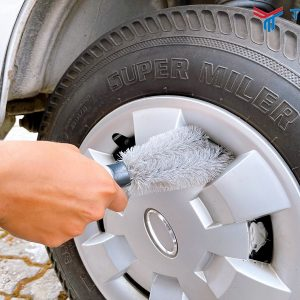 Cọ rửa mâm xe dễ dàng