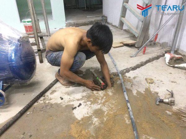 TEARU chuyên cung cấp lắp đặt ben nâng rửa xe máy trên toàn quốc