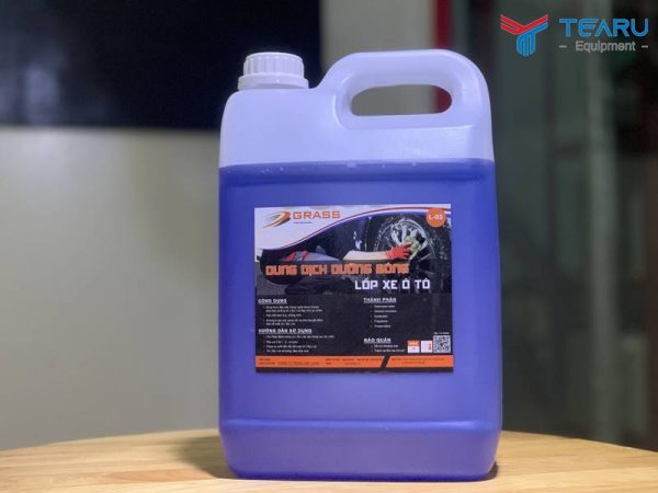 Dung dịch dưỡng bóng lốp Grass L-03 5 lít (bóng khô)