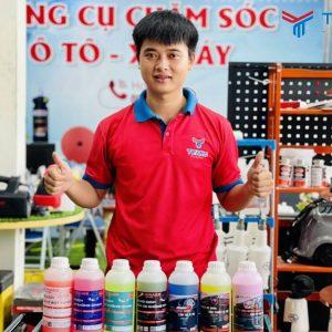TEARU cung cấp độc quyền các sản phẩm rửa và chăm sóc xe Grass