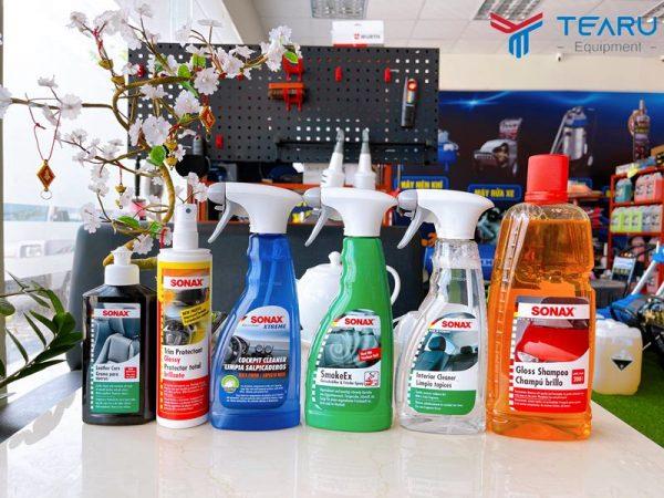 Các sản phẩm rửa và chăm sóc xe Sonax luôn sẵn có tại TEARU