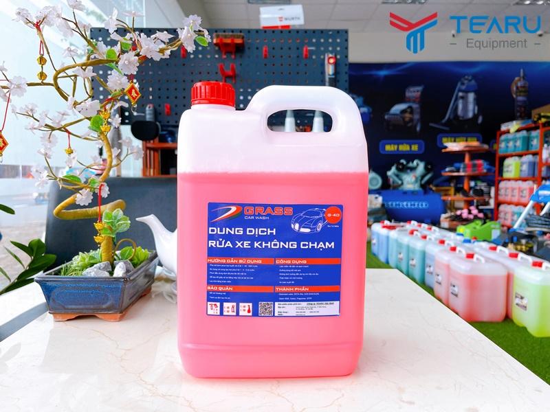 Nước rửa xe không chạm Grass G-40 5 lít