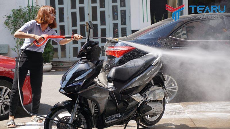 Vốn tối thiểu để làm quán rửa xe máy là 15 triệu