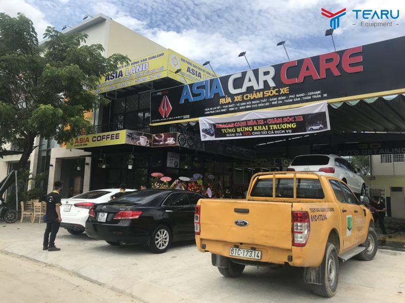 Kinh nghiệm mở tiệm rửa xe ô tô chuyên nghiệp