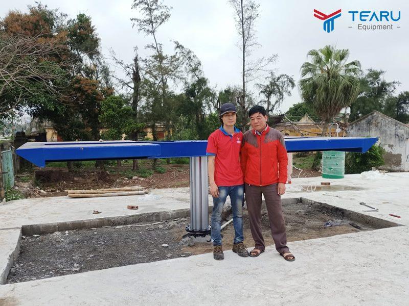Lắp đặt tiệm rửa xe ô tô cho chú Lai ở Hải Hậu - Nam Định