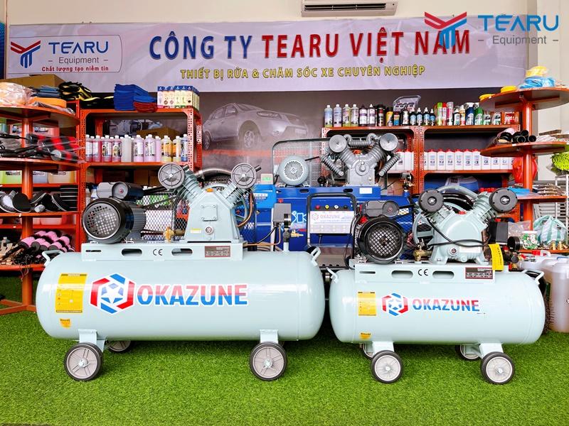 Máy nén khí Okazune cung cấp độc quyền bởi TEARU