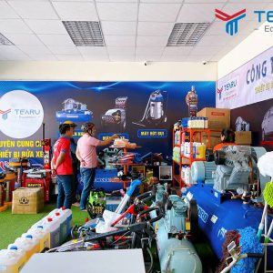 Mua máy rửa xe tại công ty TEARU Việt Nam
