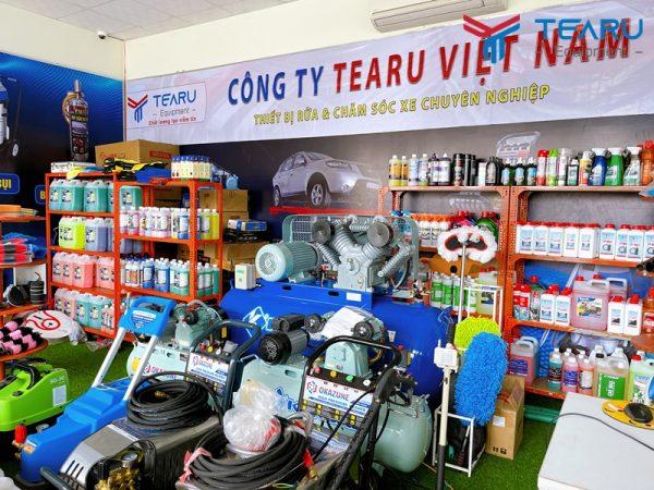 TEARU chuyên cung cấp nước rửa xe chính hãng
