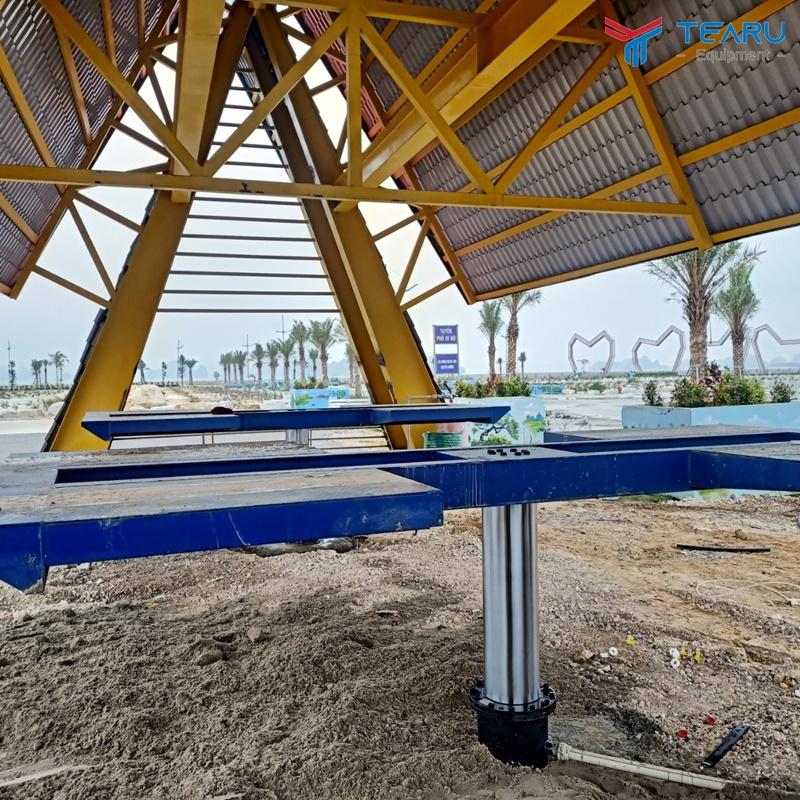 Lắp cầu nâng 1 trụ TAGORE