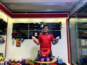 TEARU cung cấp trọn bộ dụng cụ rửa xe tại nhà