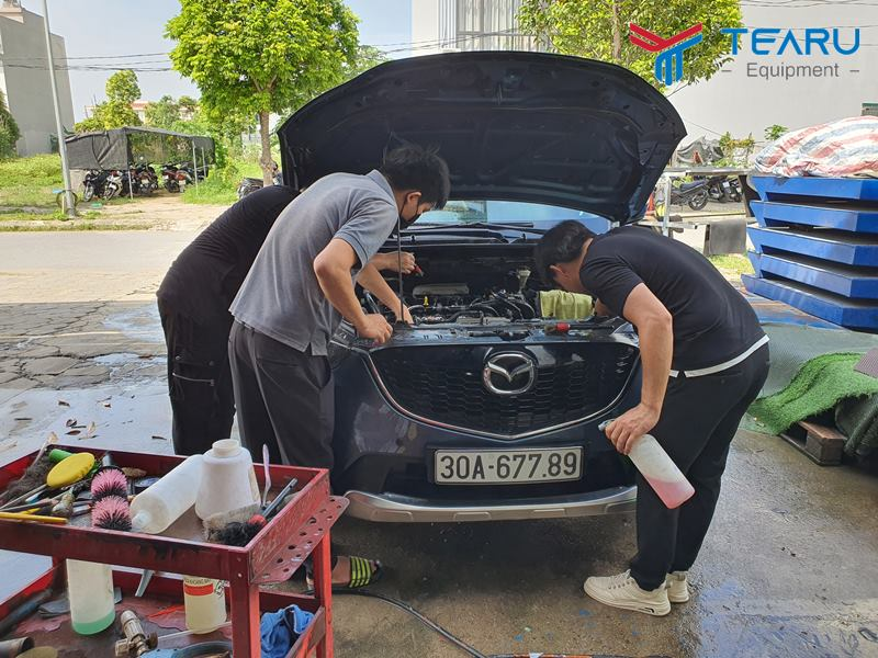 Dung dịch rửa khoang máy ô tô tốt nhất