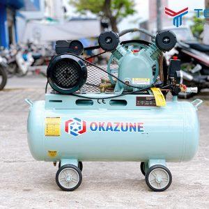 Máy nén khí dây đai Okazune 1.5HP 70L