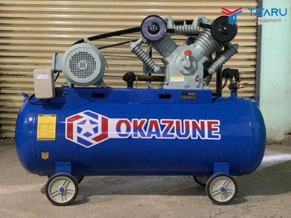 Máy nén khí dây đai Okazune 10HP 330L