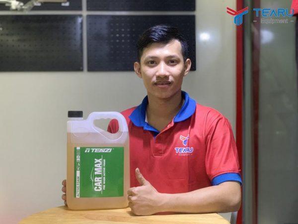 nuoc rua xe khong cham tenzi car max 5 lit 3