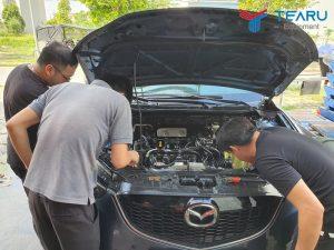 Quy trình rửa khoang máy ô tô chuyên nghiệp