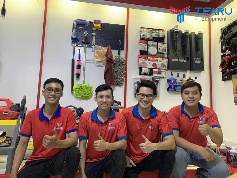 Đội ngũ nhân viên TEARU chuyên nghiệp