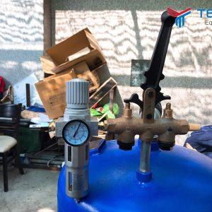 Nên lắp bộ lọc tách nước khí nén cho cầu nâng 1 trụ khi sử dụng