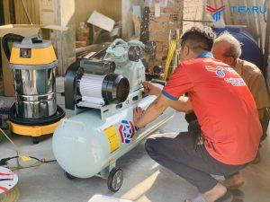 Cách sử dụng máy nén khí an toàn hiệu quả
