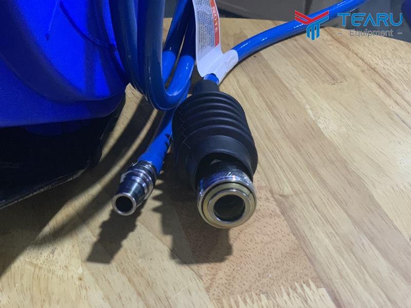 Đấu nối khí nén và sử dụng