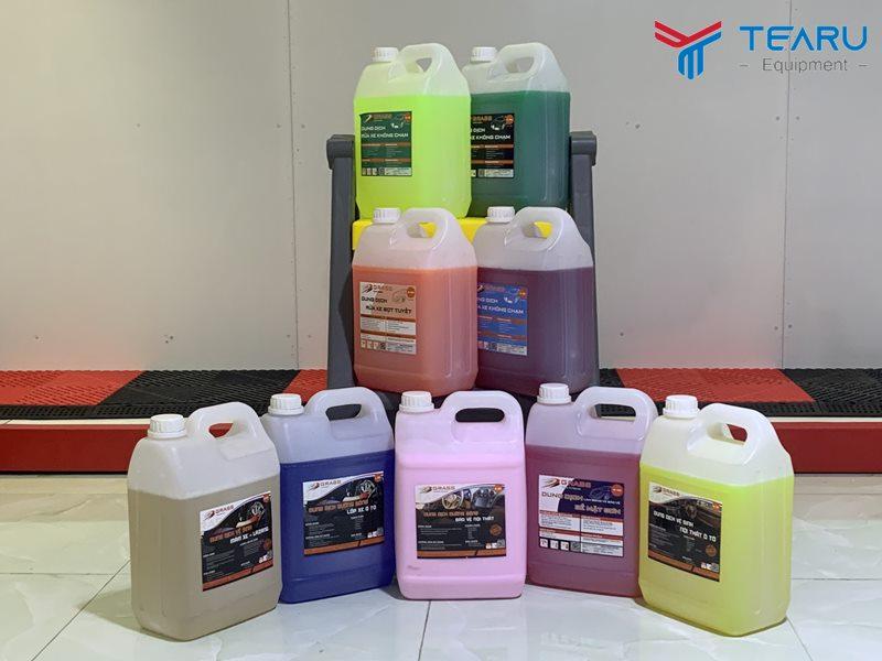 Mua hóa chất làm bóng vỏ lốp xe chính hãng tại TEARU