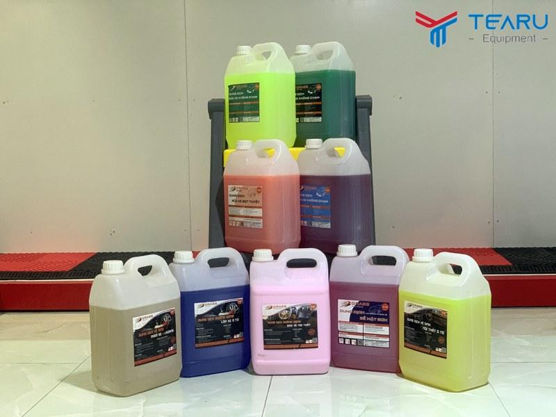 TEARU cung cấp độc quyền dòng dung dịch rửa và chăm sóc xe Grass