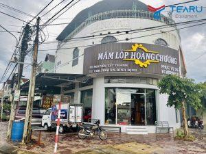 Lắp đặt tiệm mâm lốp Hoàng Chương ở Hoài Ân - Bình Định