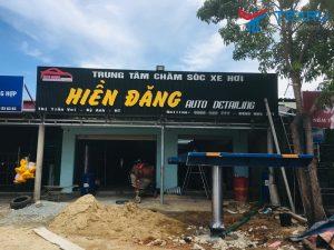 Lắp đặt tiệm rửa xe cho anh Đăng tại Kỳ Anh - Hà Tĩnh