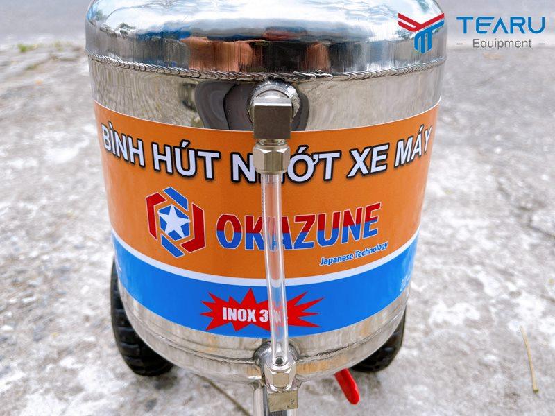 Chất liệu inox 304 dày 1.5 mm