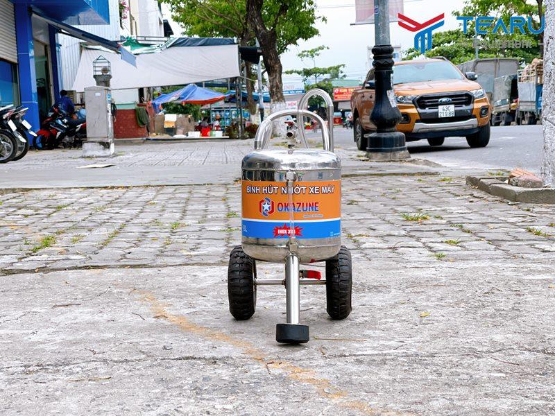 Máy hút nhớt xe máy Okazune 8 Lít