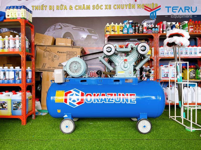 Máy bơm hơi cung cấp khí nén cho nhiều lĩnh vực