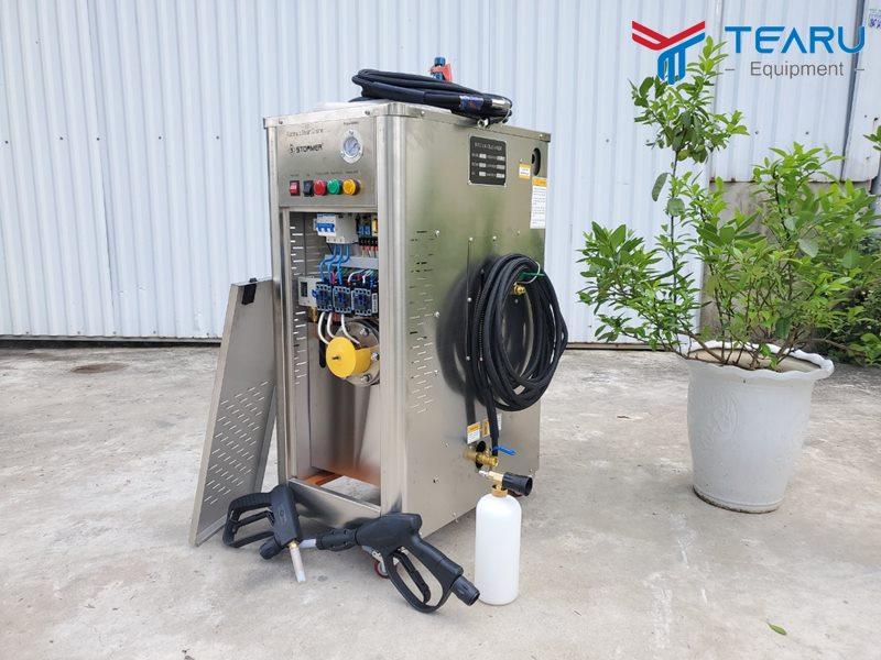 Trọn bộ máy rửa xe nước nóng Okazune A-15000