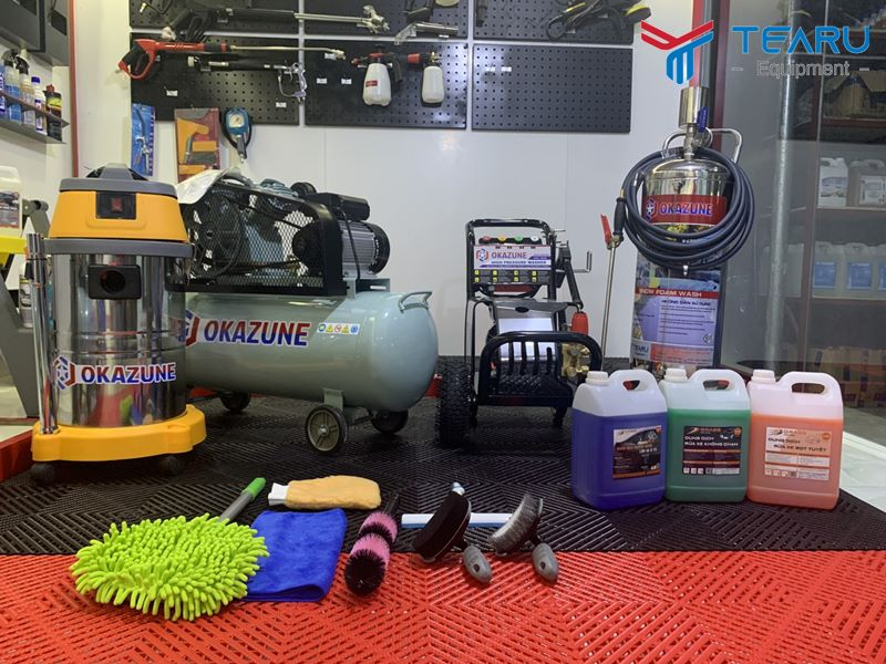 Vậy mở tiệm rửa xe máy cần những gì?