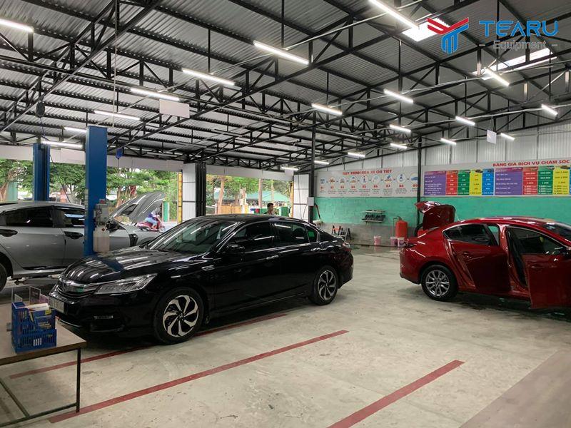 Mở tiệm rửa xe ô tô cần bao nhiêu vốn?