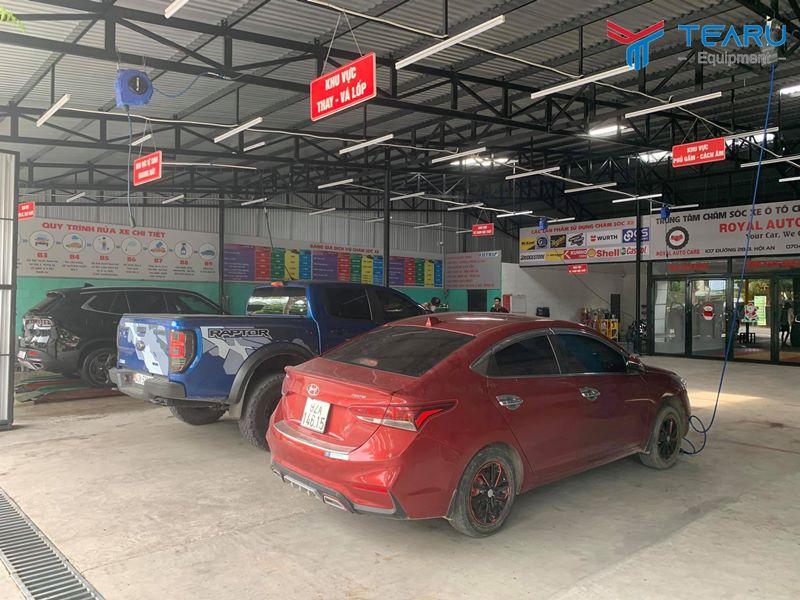 Cần tối ưu chi phí mở cửa hàng rửa xe ô tô