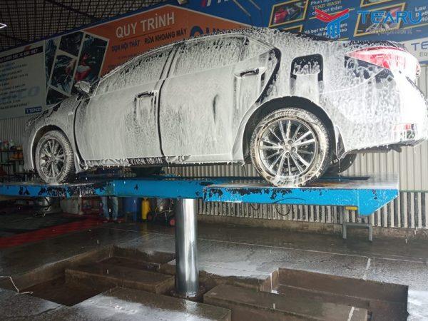 Công nghệ rửa xe không chạm đang lên ngôi