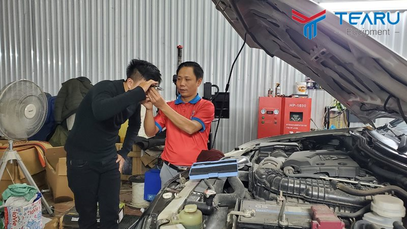 TEARU chuyên tư vấn đào tạo cung cấp thiết bị cho gara ô tô