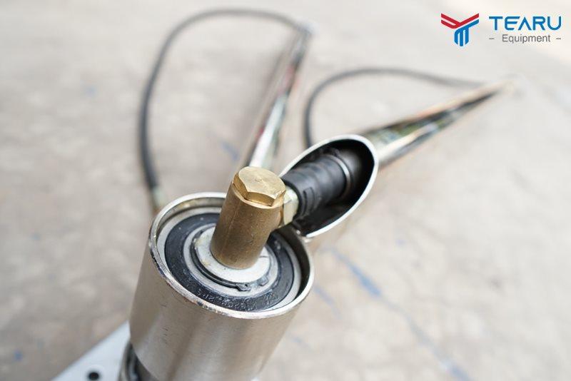 Lỗi rò rỉ nước trên tay quay 360 độ rửa xe và cách xử lý