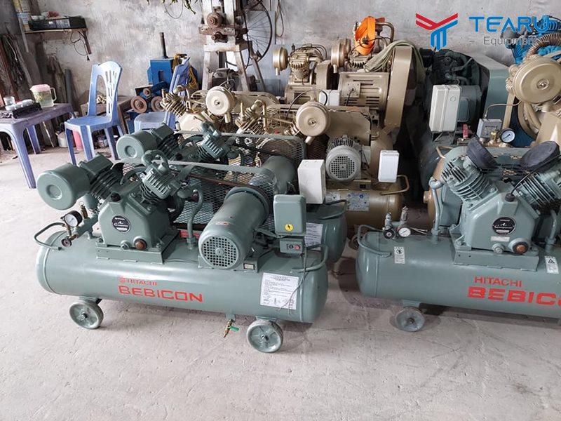 Mua máy nén khí cũ giá rẻ đã qua sử dụng nhiều rủi ro