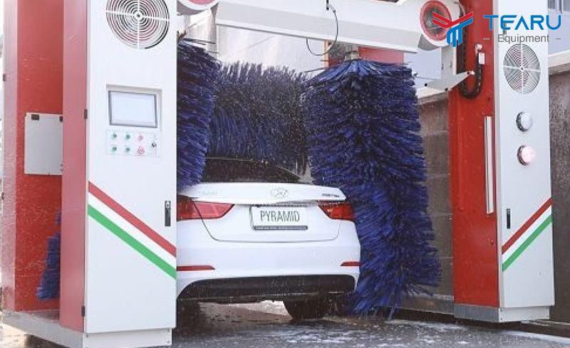 Mô hình rửa thông minh thu hút khách hàng