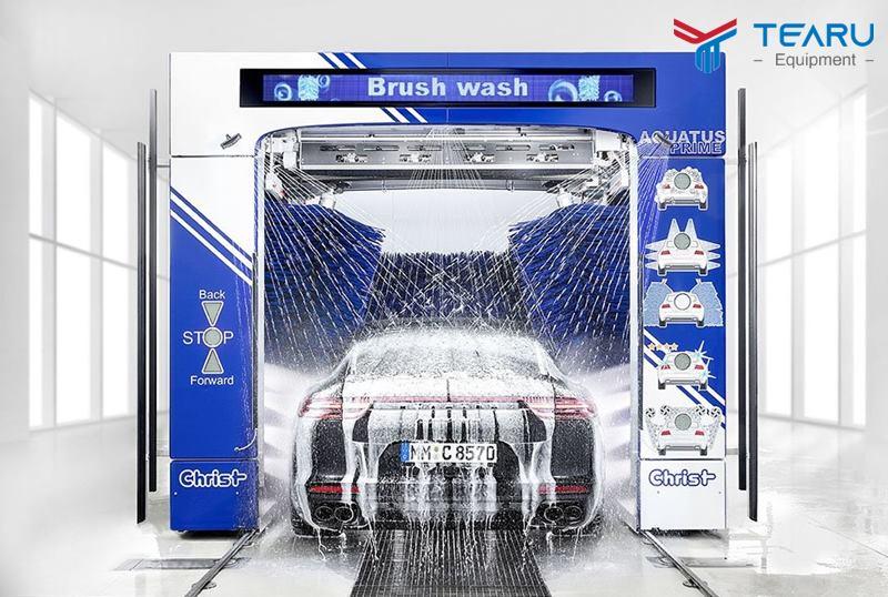 Mô hình rửa xe thông minh