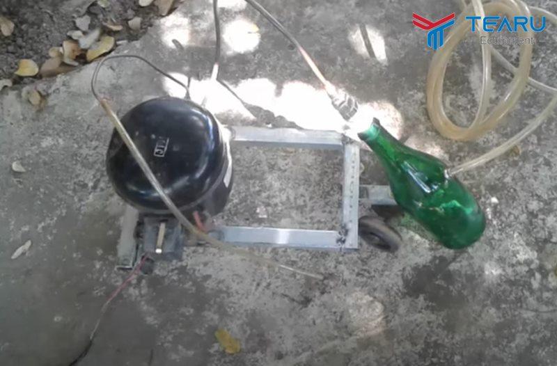 Hướng dẫn tự chế máy hút nhớt xe máy tại nhà