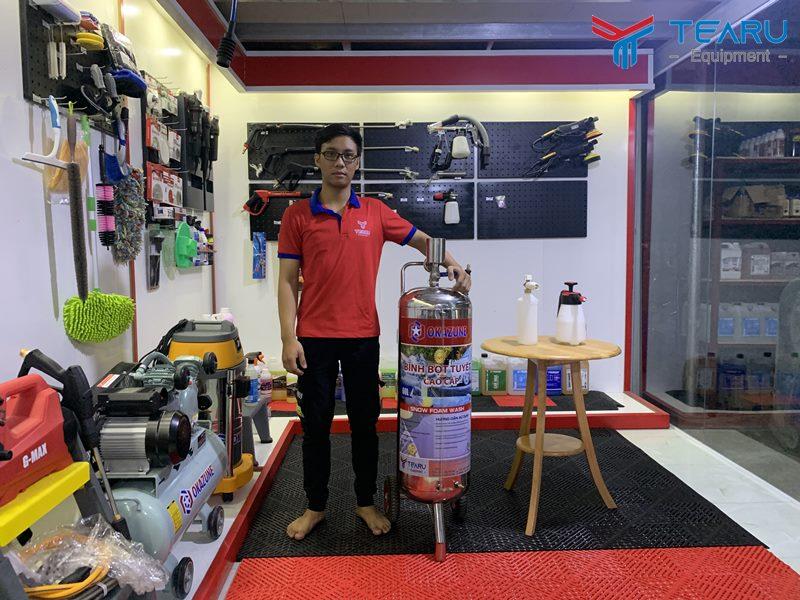 TEARU chuyên bán bình bọt tuyết tại TP Hồ Chí Minh uy tín