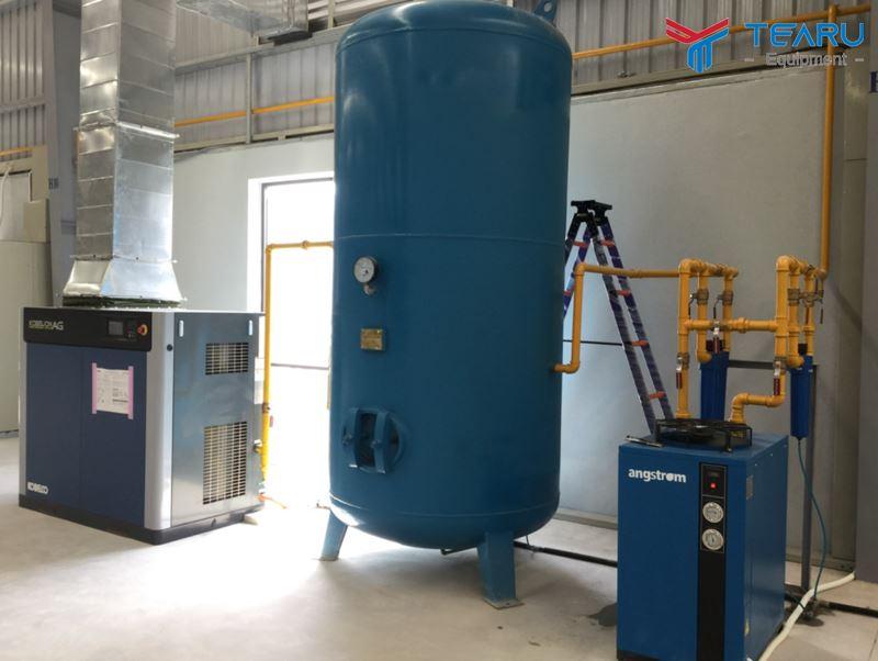 Cần lắp đặt thiết bị tách nước khí nén đúng kỹ thuật