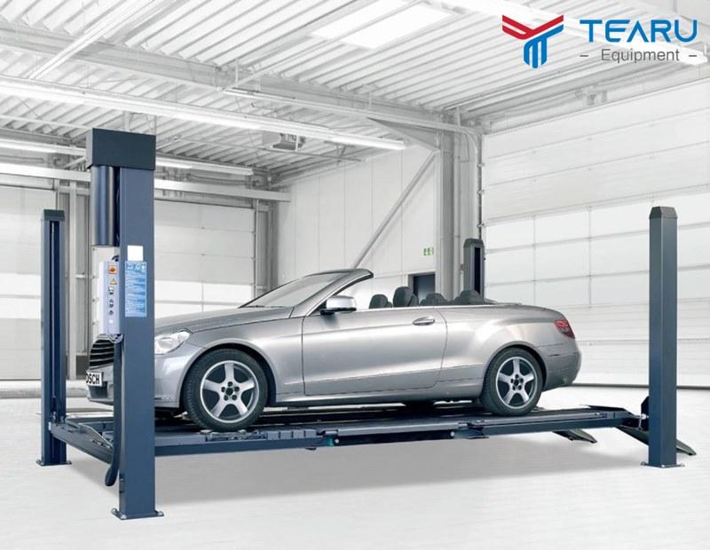 Cầu nâng ô tô là thiết bị nâng hạ xe hơi