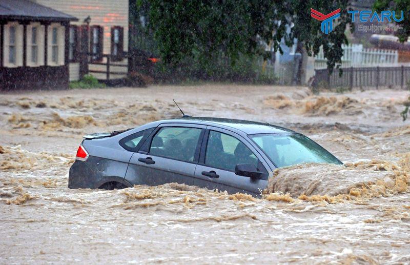 Xác định mực nước ngập