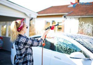 Cách rửa xe ô tô tại nhà chuẩn quy trình