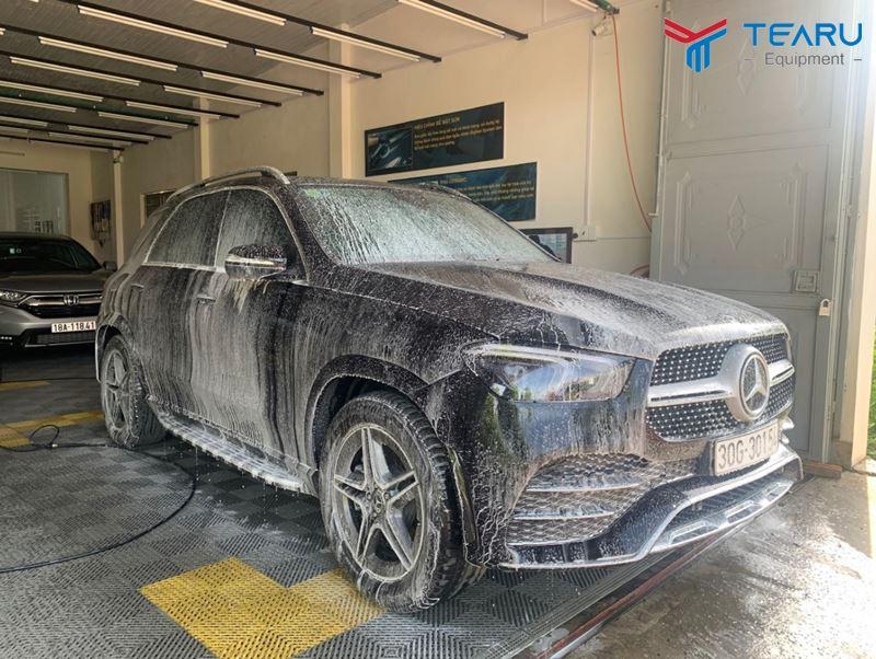 Cần rửa xe đủ các bước