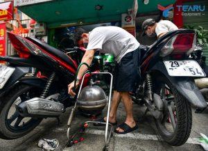 Hướng dẫn cách sử dụng máy hút nhớt xe máy đúng chuẩn