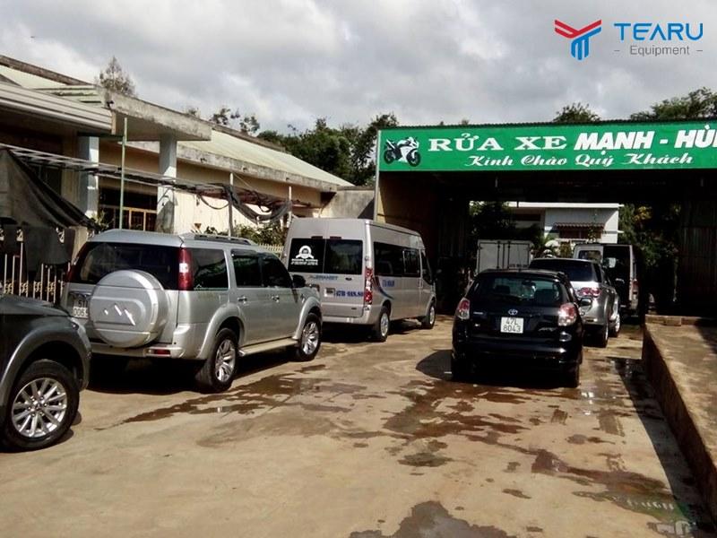 Cách xây cầu rửa xe ô tô bằng bê tông sẽ giúp tiết kiệm chi phí