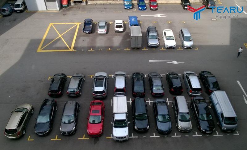 Mặt bằng bãi đậu xe cần hút khách